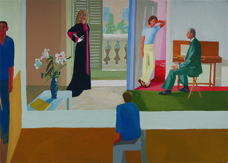 Tate Gallery, David Hockney – Londres 2016